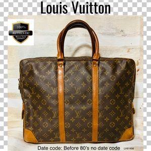 Louis Vuitton business bag porte document voyage